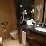 modern comfortable bathroom