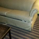 Pull out couch: broken