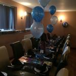 Lovely spacious back room for parties ,big family meals etc x