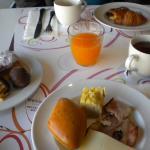 Petit-déjeuner gourmand
