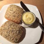 Heerlijke broodje met boter vooaf ( dag twee)