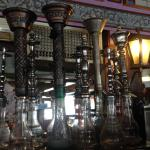 Everywhere you look, its Turkish. Great decor.