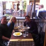 Lunch with our guide Tommaso.