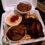 2 Meat Combo Ribs & Brisket - $15.99