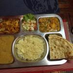 I went with Vegetarian Set 3 with Koorma