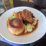 Rolled belly of pork, Sunday lunch