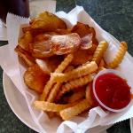 fries and chips