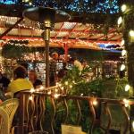 Outdoor dining at LaCocina