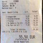 14 EUR just or the bread!