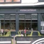 Shop front at Pizza Express Exeter