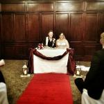Our wonderful wedding ceremony