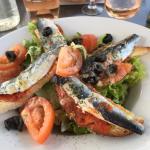 Salade sardines