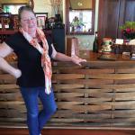 My mom's favorite winery, hands down! Oak barrel bar...
