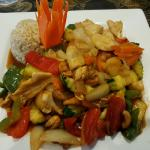 Thai Cafe - Sweet & sour chicken