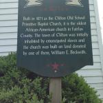 Clifton Primitive Baptist Church info