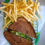 Jungle Love Sandwitch with Fries
