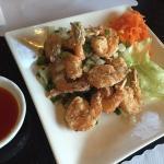 Stir Fried Shrimp Appetizer