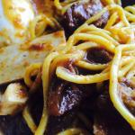 Nice Mee Rebus Tulang Rusuk (Ribs) good thick sauce and generous portions   They also serves the