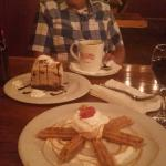Dessert - Churros and Mud Pie