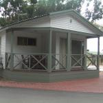 one of the cabins at caravan park