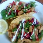 Rockfish Tacos at the Pilot Light for Dinner.... FRESH