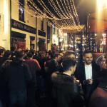 A busy New Year in Ashton Lane