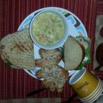 3. Soup, Sandwich,Flat Bread and Dessert
