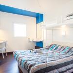 chambre triple (1 lit double et 1 lit simple)