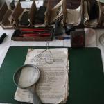 Bureau du Dr Schweitzer avec son matériel d'époque