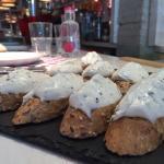 Montaditos en restaurante Casa Lola, Rambla Catalunya 70