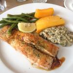 Norwegian Salmon & veg