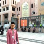 Tampak gerbang Museum dari pintu 8 Masjid Nabawi