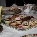 Delicious dessert trey for the non-vegans