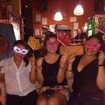 Fuimos a celebrar en el Karma Café!!!!