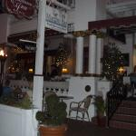 The front veranda at the Casablanca. Great place for Tini Martini's!!
