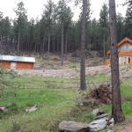 Top tier of cabins