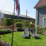 mooie tuine met zalige ligzetels