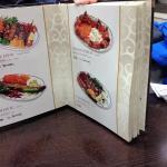 variety in the menu