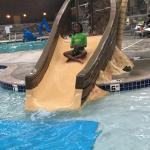 Kids pool play area