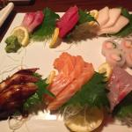 This is the chef's choice sashimi plate