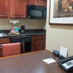 Pequena mesa de trabalho e refeições não agradou :(