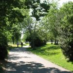 Capital City Bike Trail adjacent to hotel