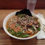 Spicy miso raman