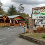 Log Cabin Frozen Treats