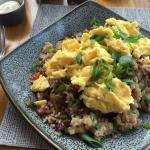 Excellent Hawaiian Fried Rice at Breakfast!