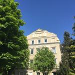 Park Hotel Traunstein, vom Sommergarten aus fotografiert