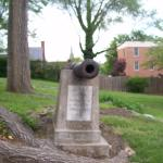The Cannon that says it was what General George Washington actually used.