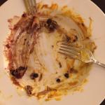 This plate showed how good the duck confit was (past tense)
