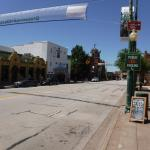 Main St from pizza parlor--great town!!