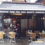 Pizzeria Portofina cafe front